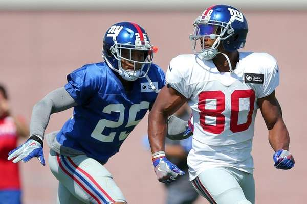 Giants rookie WR Sterling Shepard blocks out growing hype