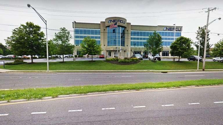 The main offices of NEFCU in Westbury.