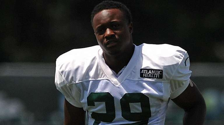 Bilal Powell #29, New York Jets running back,