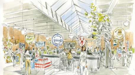 The proposed $2.5 million Downtown Riverhead Food Market
