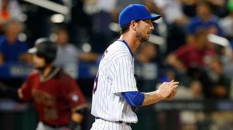 Jerry Blevins #39 of the New York Mets