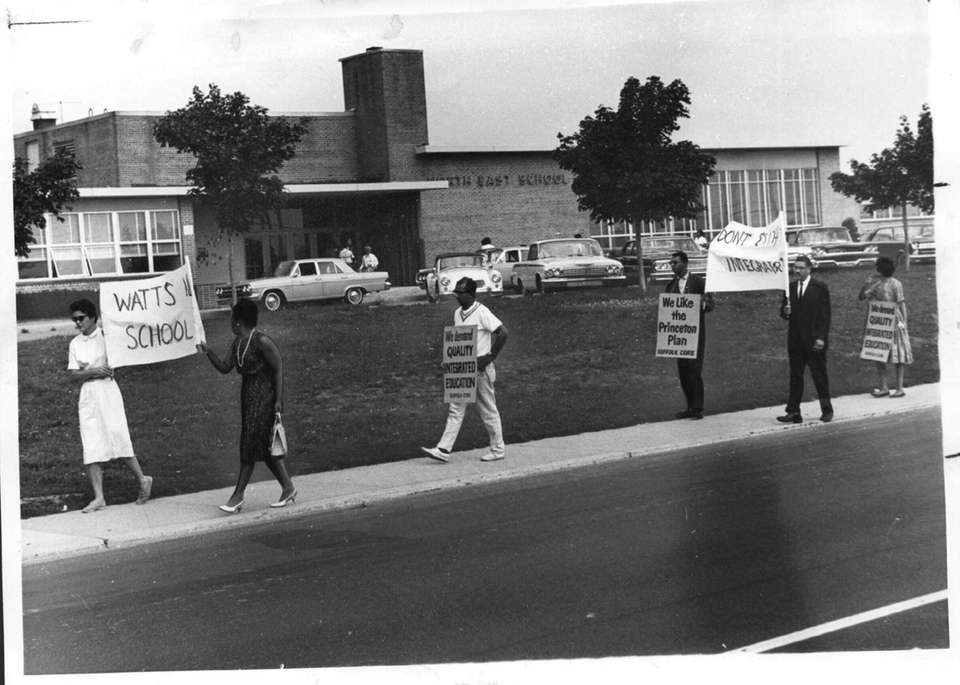 When the state education commissioner issued his desegregation