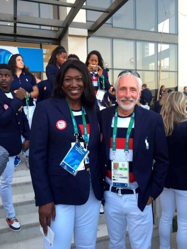 Team USA Track and Field men's coach Vin
