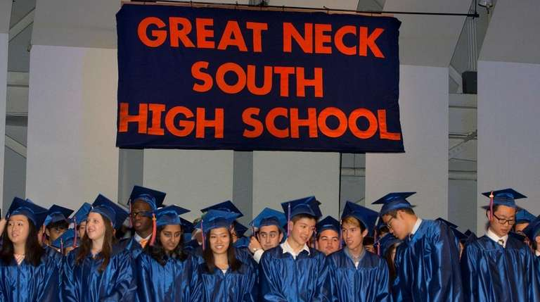 Great Neck South High School, with a ranking