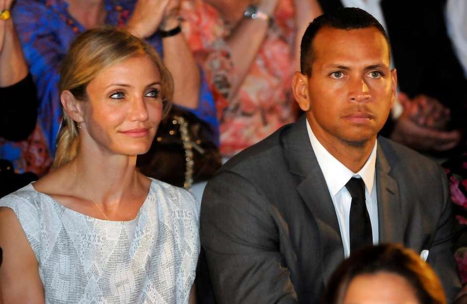 Actress Cameron Diaz and baseball star Alex Rodriguez