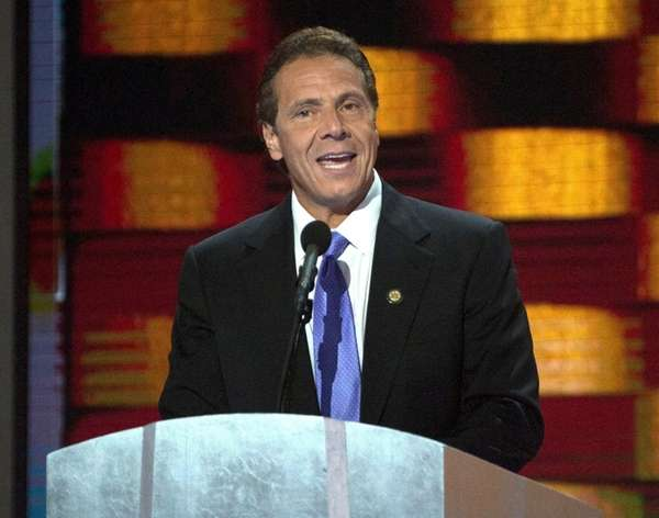 Gov. Andrew Cuomo speaks onJuly 28, 2016, at