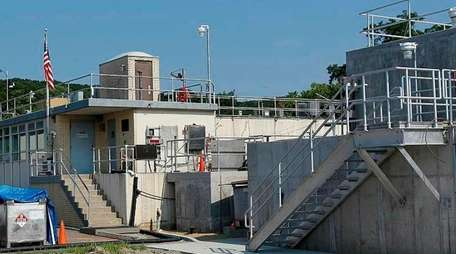 The Northport sewer plant in Northport on Thursday,