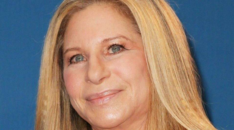 Barbra Streisand, pictured in February 2015, performed a