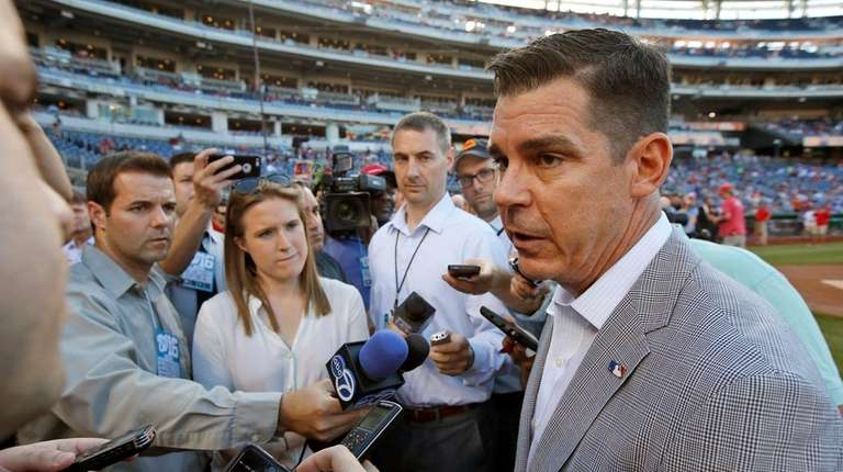 Billy Bean, MLB's vice president of social responsibility
