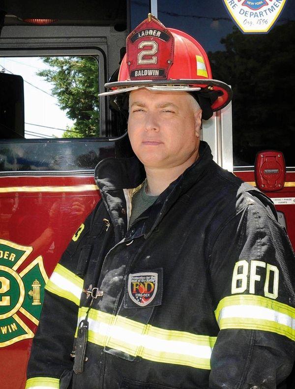 Fred Kopf, former captain of the Baldwin Fire