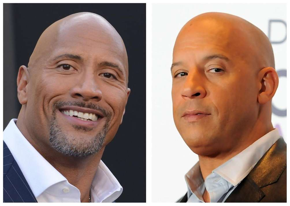 Dwayne Johnson and Vin Diesel are reportedly at