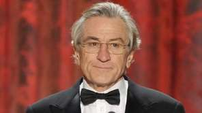 Robert De Niro expressed his support of Clinton