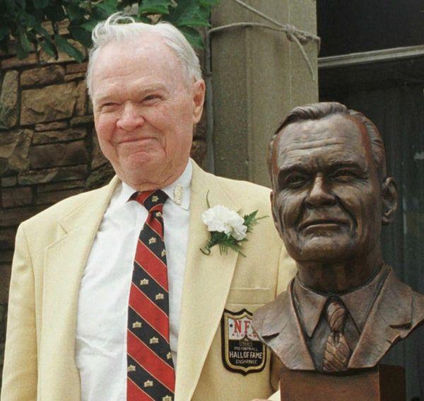 Wellington Mara, owner of the New York Giants,