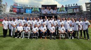 Team photo of the 1996 New York Yankees