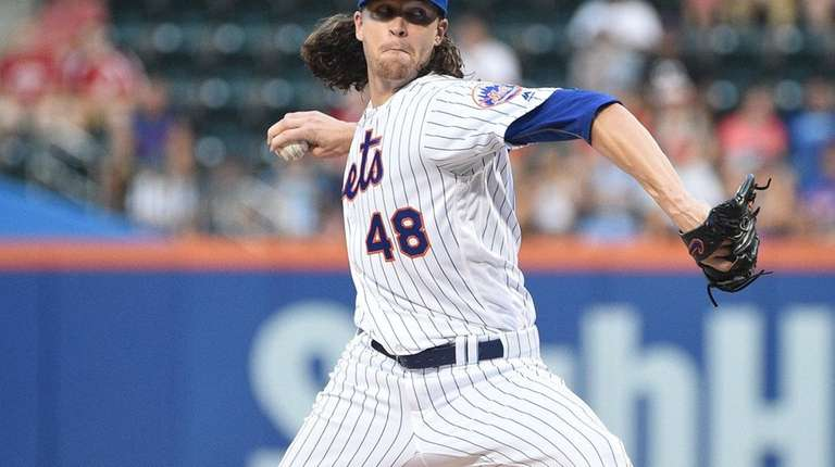 Jacob deGrom allowed only one run, three hits