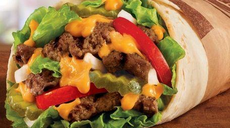 The burger burrito mash-up the Whopperito will be