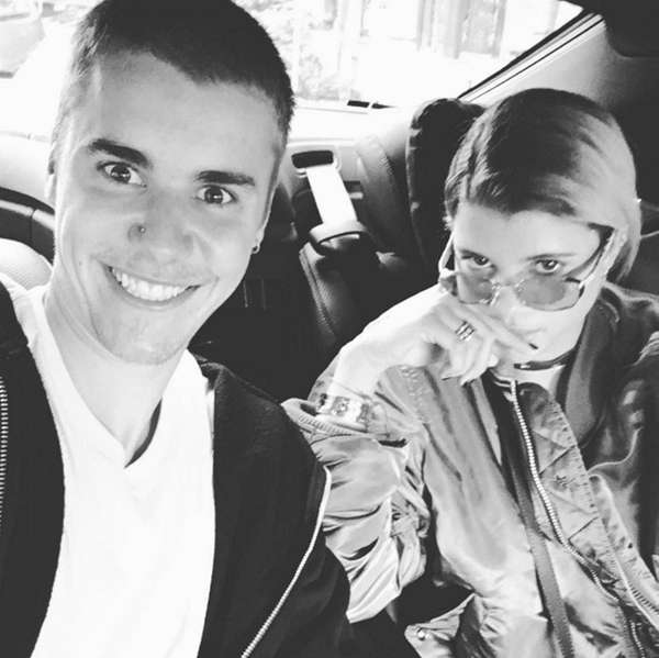 Justin Bieber posted this picture of himself and