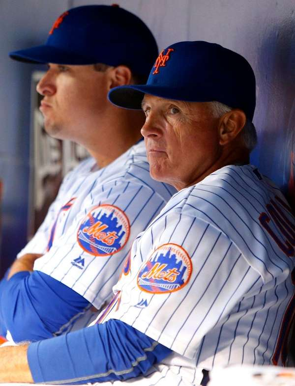 Manager Terry Collins, right, said he would not