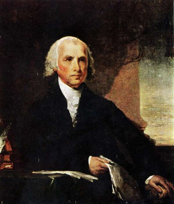 James Madison (D-R) ran for president in 1812
