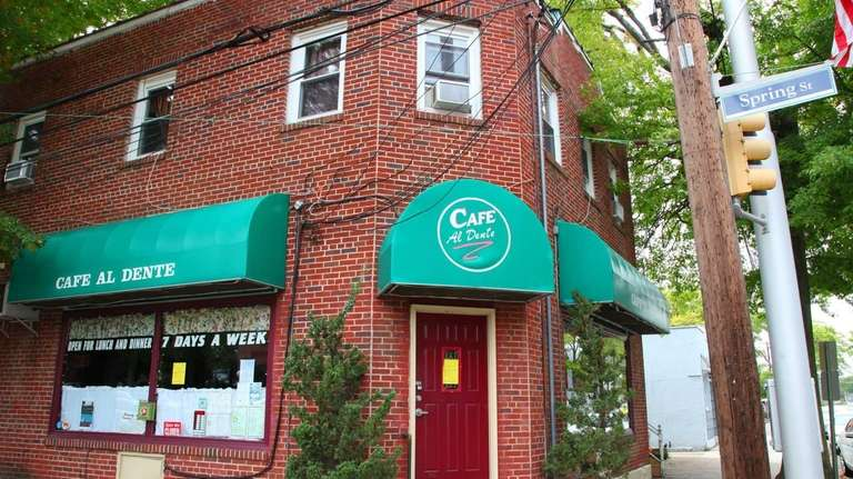 Cafe Al Dente, which was shut by the