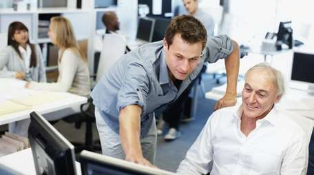 Concerns that an older worker may be less