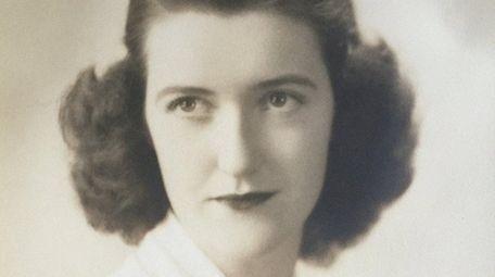 Nancy Meade in 1942, when she would