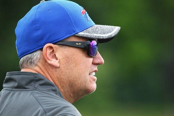 Buffalo Bills coach Rex Ryan at training camp