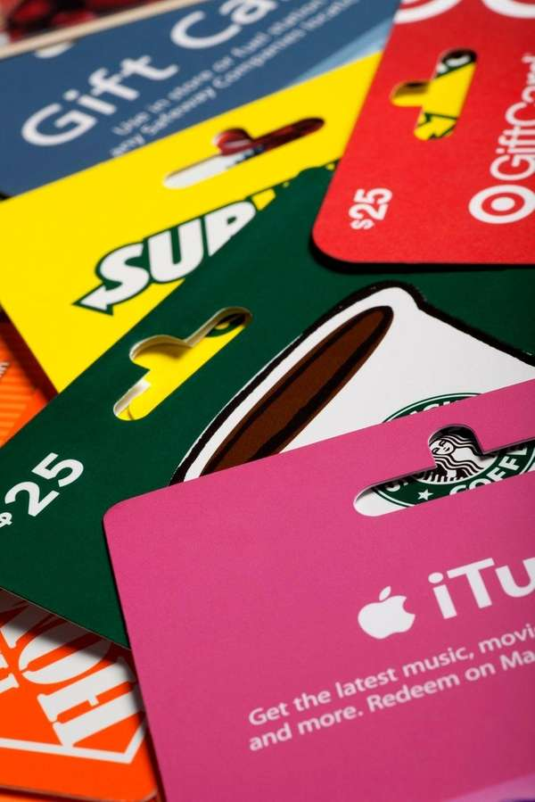 Employers cannot use gift cards in lieu of