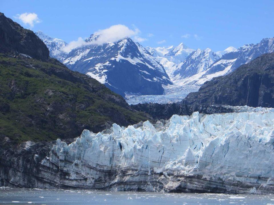 Marjorie Glacier, Glacier Bay National Park Alaska July