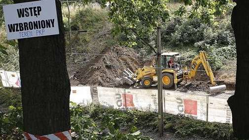 Heavy machinery begins the search, the work of