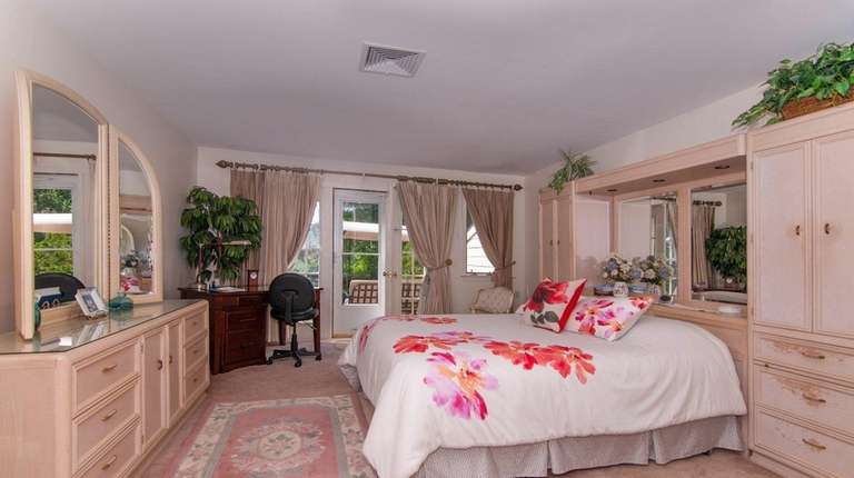 This is the master bedroom of Dorothy McGrath