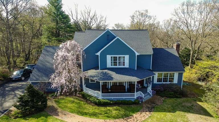 This four-bedroom home on 2.55 acres in Northport