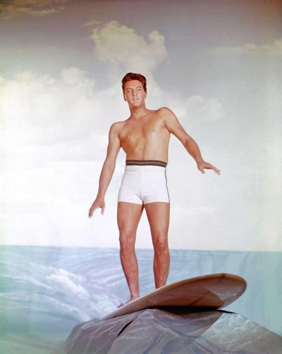 An Elvis publicity still to promote his movie