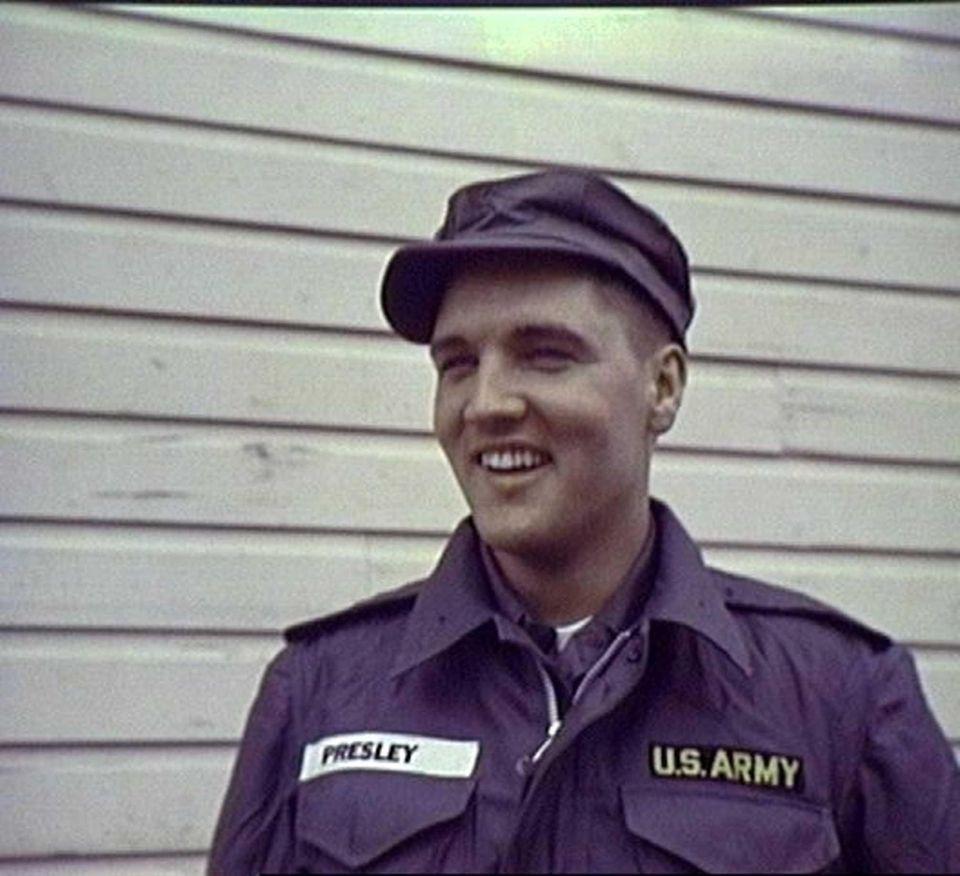 Elvis Presley in 1958, his Army year.