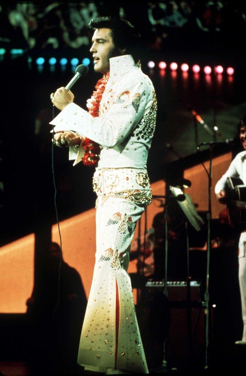 Elvis Presley in 1970.