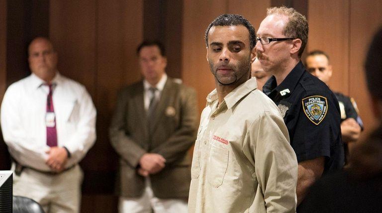 Oscar Morel, 35, of Brooklyn, accused in the