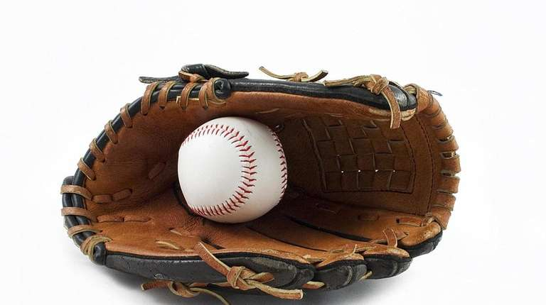 There's always a glove and ball at the