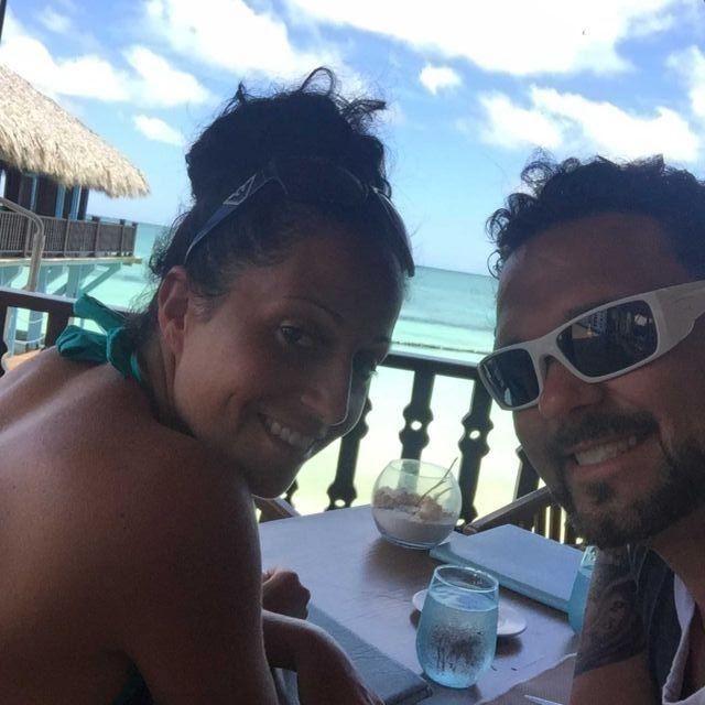 Dominican republic honeymoon Roger and Jamie