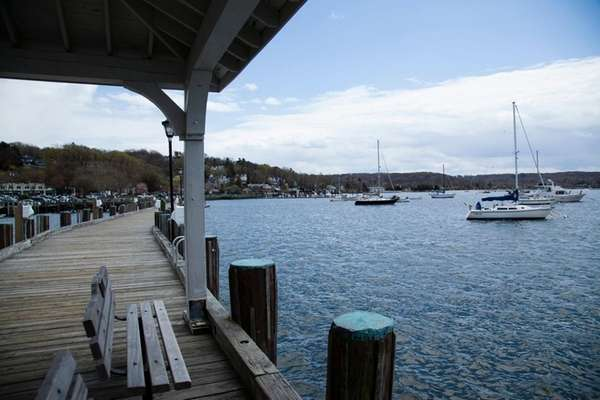 The Village Dock with views of Northport Harbor,