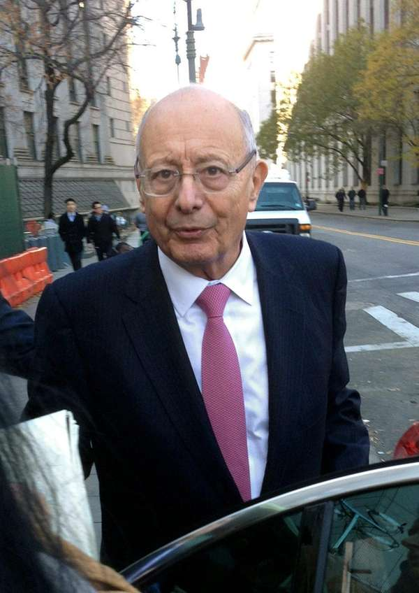 Former U.S. Sen. Alfonse D'Amato is president of