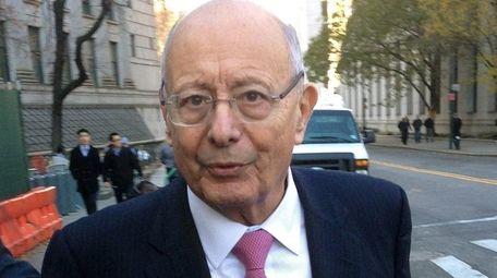 Former U.S. Sen. Alfonse D'Amato is president of
