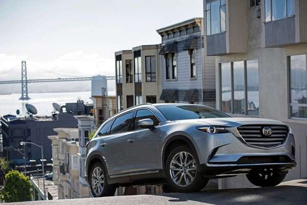 The 2016 MAZDA CX-9 all new and redesigned,