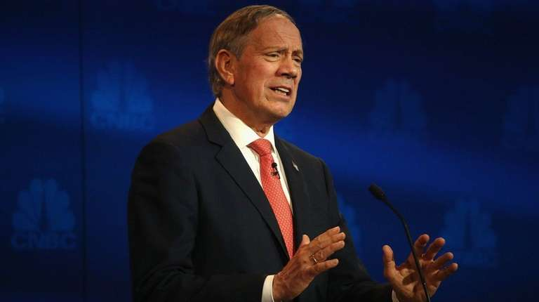 Former New York Gov. George Pataki, seen at