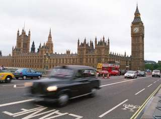 London's black cabs take you through a scenic