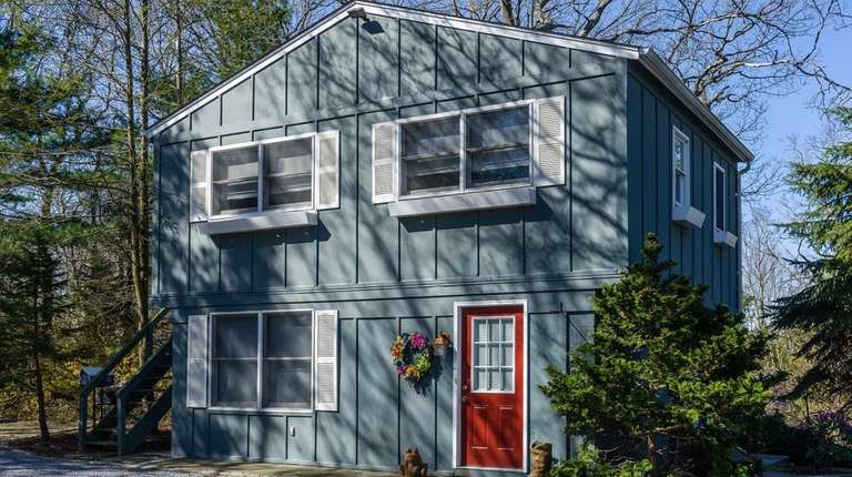Included on the 2.55 acres is a one-bedroom,