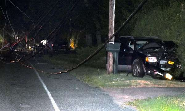 Suffolk County police are investigating a crash that