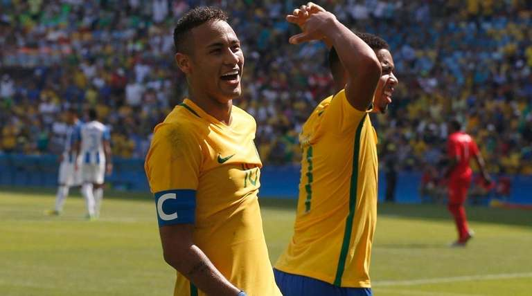 Rio Olympics  Brazil men s soccer routs Honduras to reach final ... 0d7def2c9577f