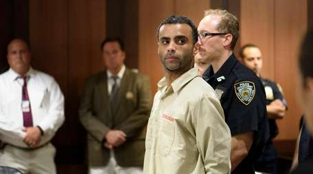 Oscar Morel, in a court appearance Tuesday, is