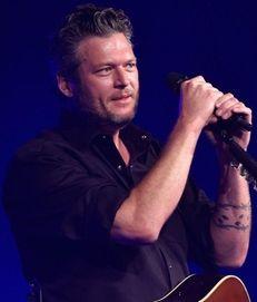 Country artist Blake Shelton said he was sorry