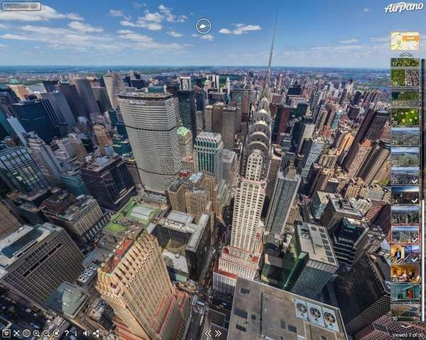 Airpano.com offers 360-degree panoramic views, by day and